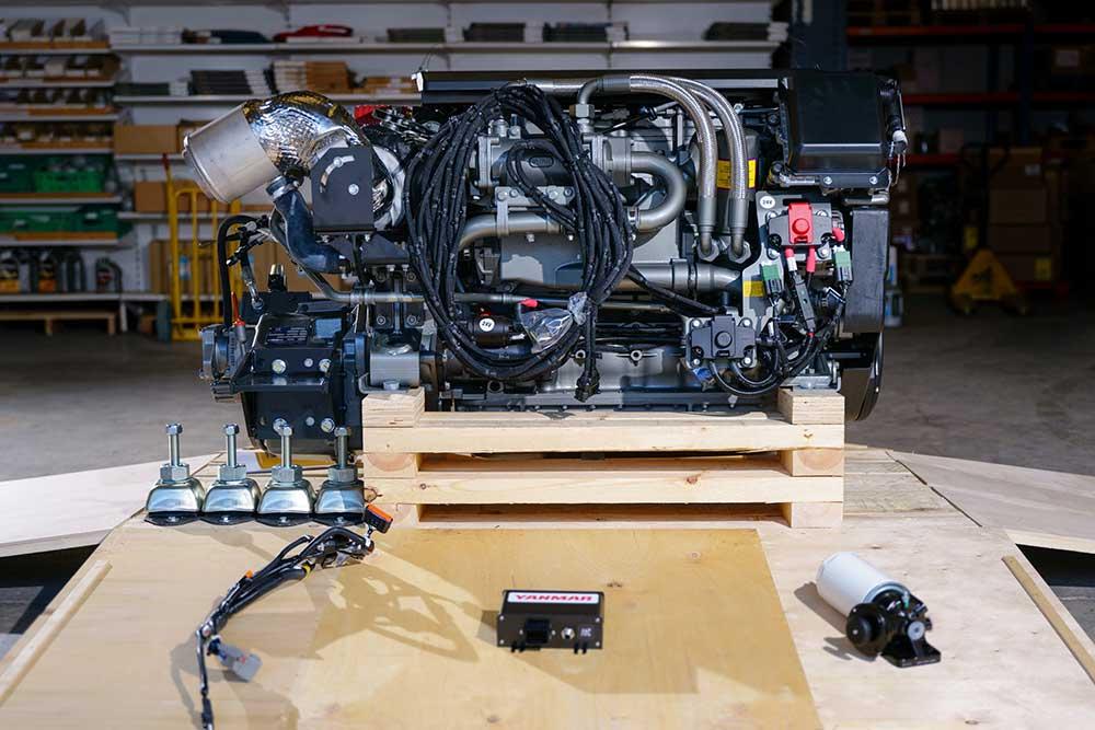 YANMAR introduce la serie di motori common rail 6LF